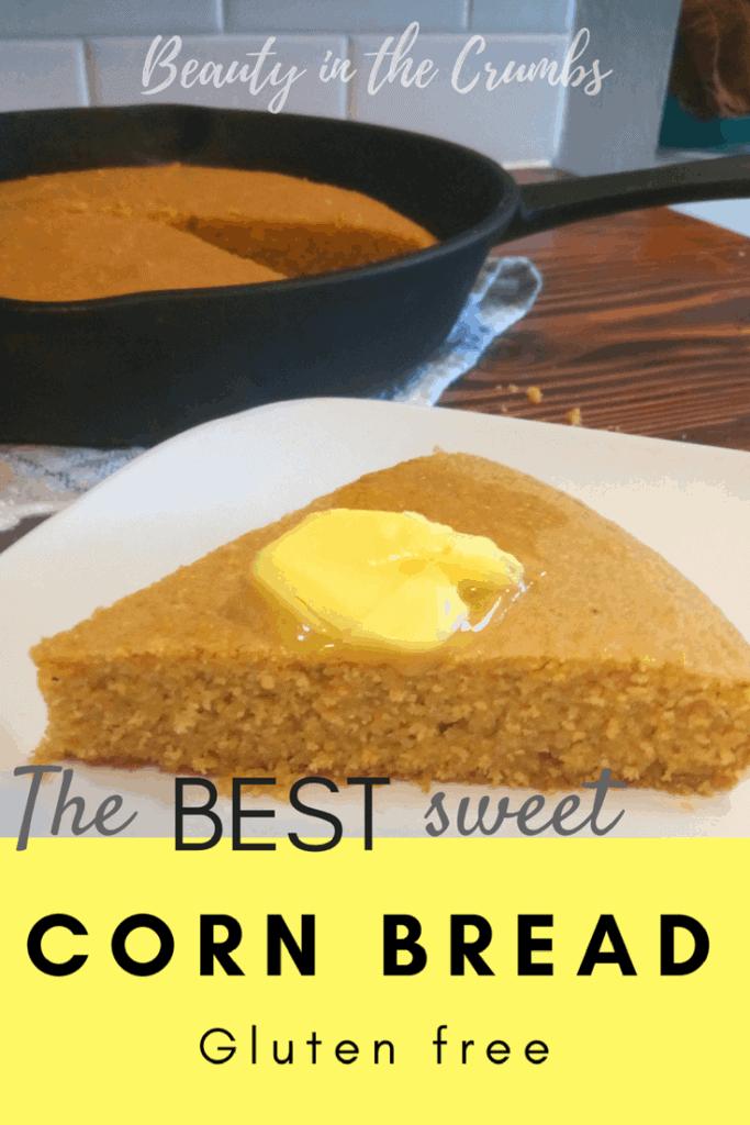 The BEST Sweet Corn Bread | Gluten-Free