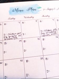 A how-to guide to meal plan that will save you time and money and reduce waste