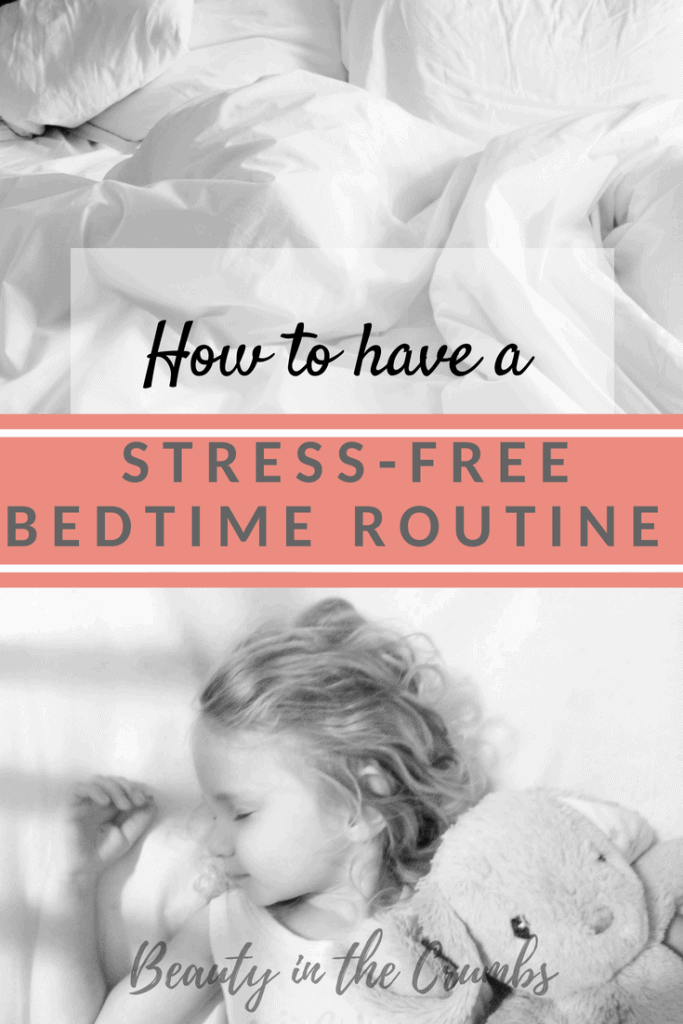 Bedtime routine to help baby sleep, toddler sleep, preschooler sleep