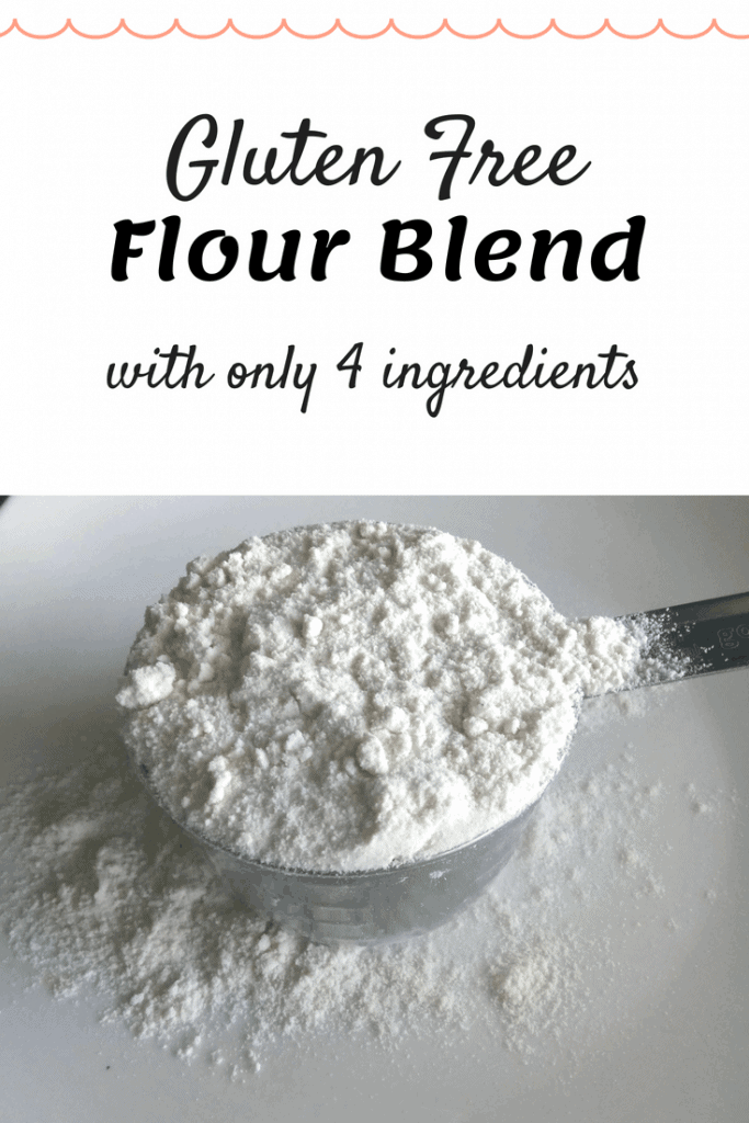 This easy gluten free flour blend is cost-effective and works cup-for-cup in most recipes. Learn how easy and inexpensive it can be to make your own flour blend!  #glutenfreeflour #diyglutenfreeflour #glutenfreeblendhomemade #easygfrecipe