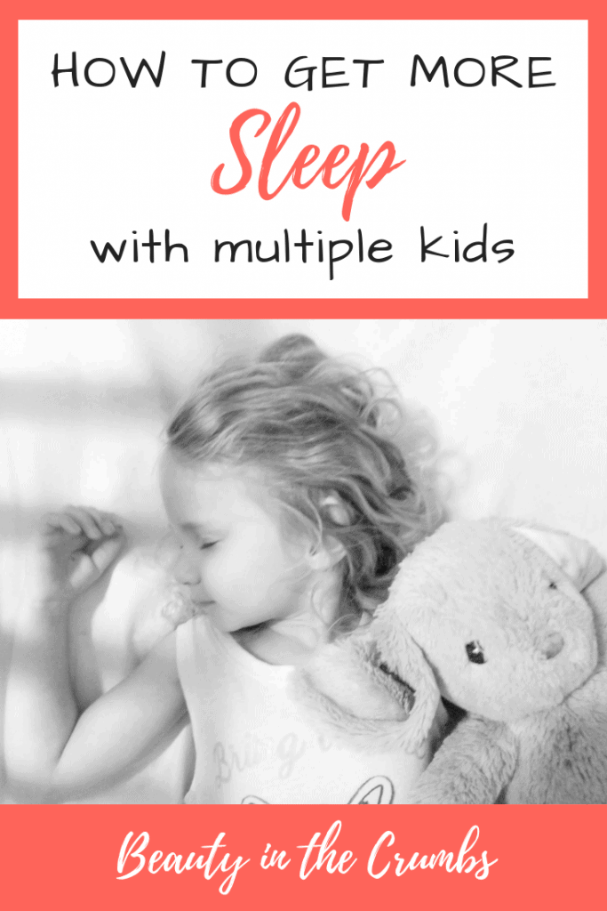 How to get more sleep with multiple kids in the home. These are the top tips for a smooth bedtime routine