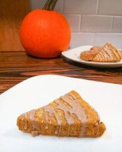 Pumpkin Scones that are gluten free, dairy-free, and vegan, easy breakfast, perfect with coffee