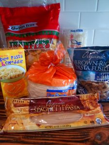 Save money on gluten-free foods! How we spend less than $450 a month on groceries and household items for a family of five. Frugal living. Healthy Living. In budget.