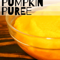 Easy Pumpkin Puree in the Oven