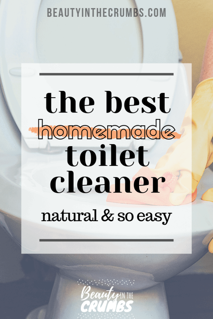 Best natural DIY homemade toilet bowl cleaner to remove stains