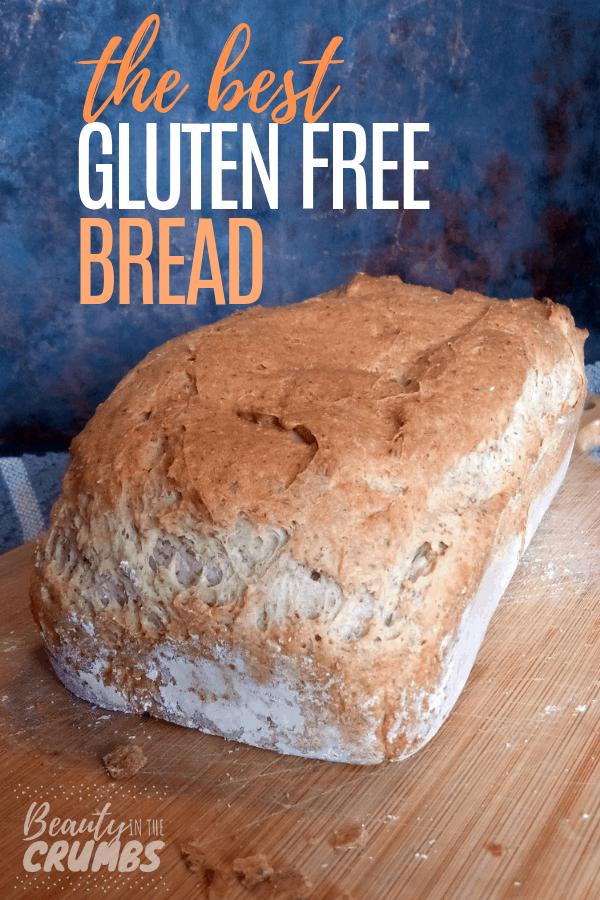 Best Homemade gluten and dairy free bread