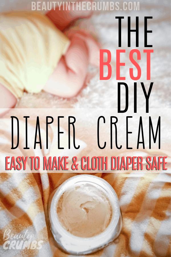 Homemade Diaper Cream