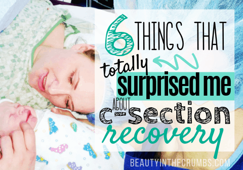 how to recover from a c-section faster