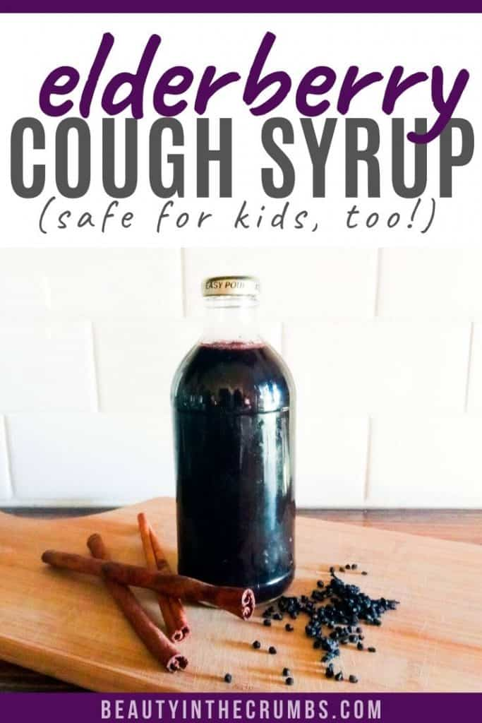 elderberry syrup home remedy for colds recipe