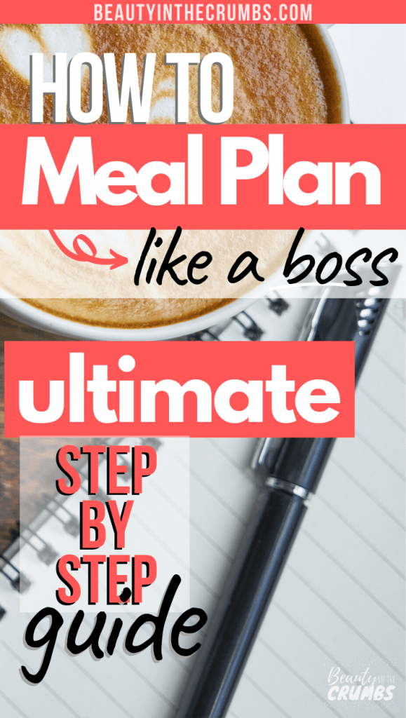 Ultimate meal planning how-to