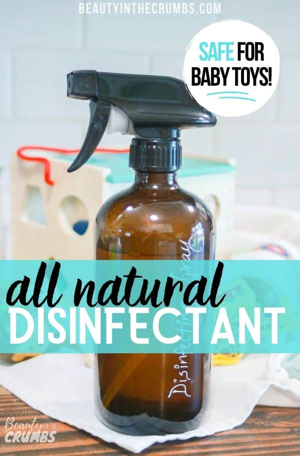 DIY Disinfectant that is all natural, non toxic, cheap, and works like Lysol