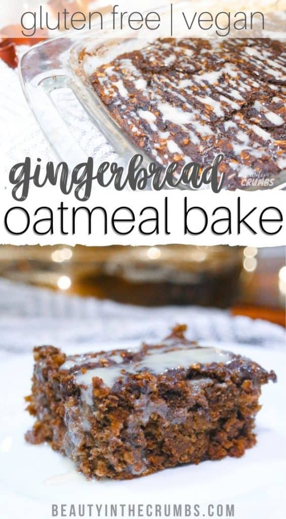 healthy baked oatmeal recipe vegan option and dairy free
