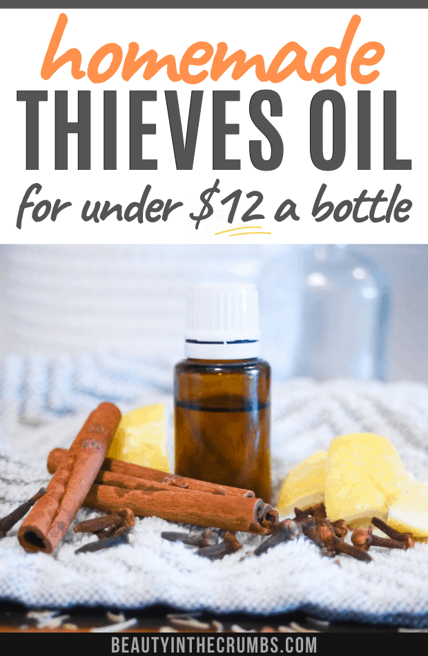 Traditional thieves oil recipe