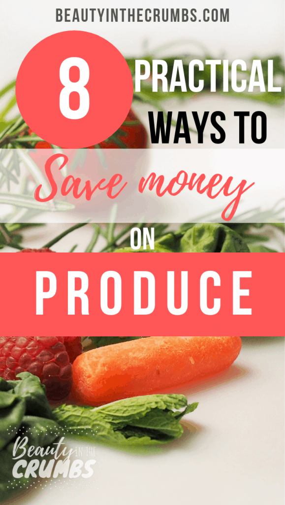 save money on produce without coupons