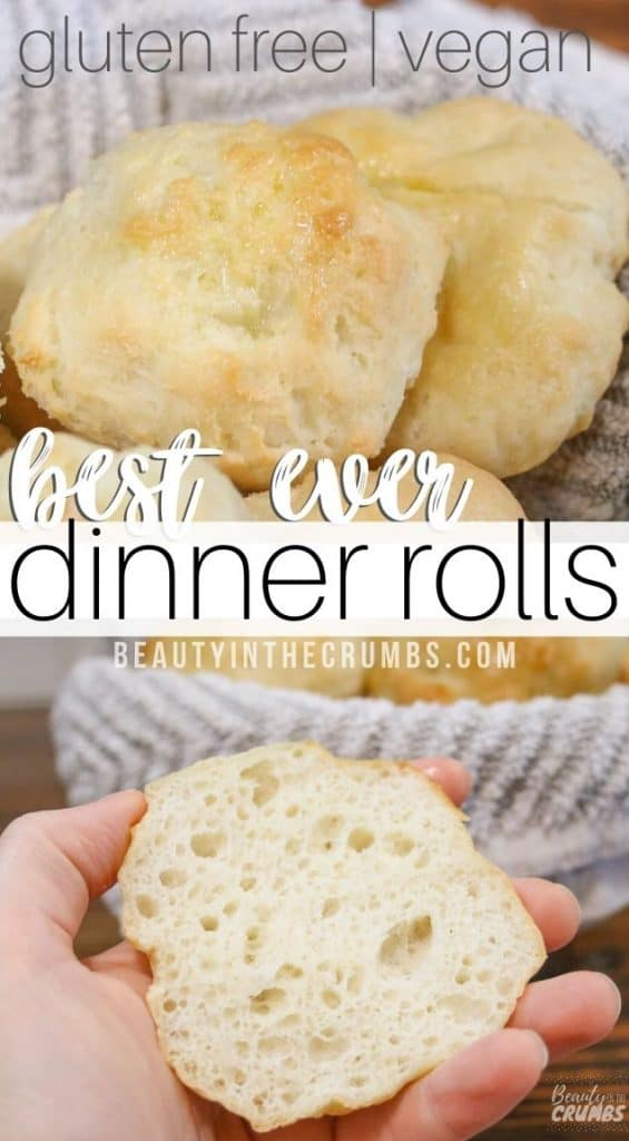 the best ever egg-less dairy free gluten free fluffy dinner rolls