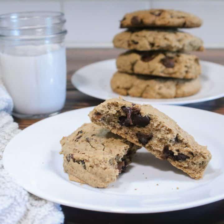 Healthy Breakfast Cookies | Gluten-free, Dairy-free, and Vegan option