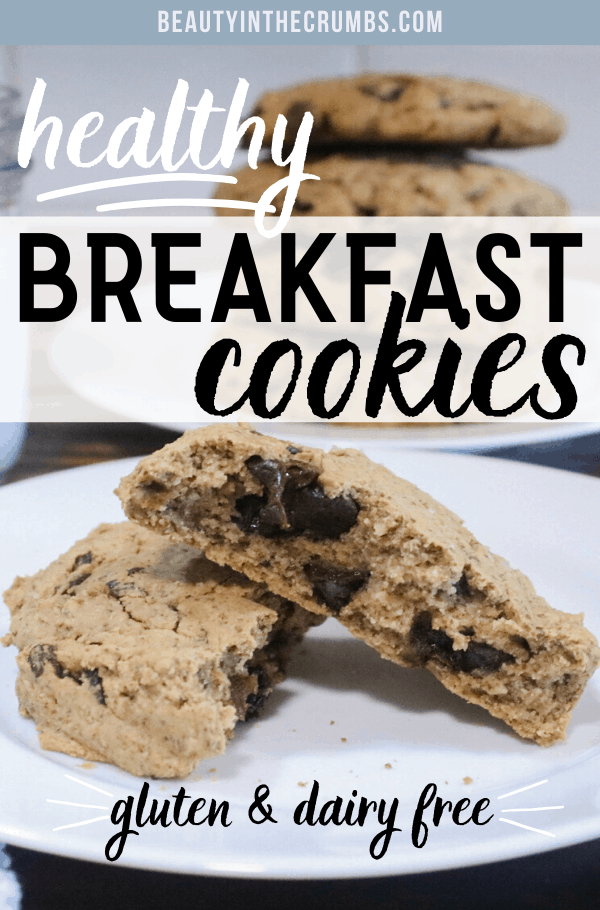 Healthy breakfast cookie recipe