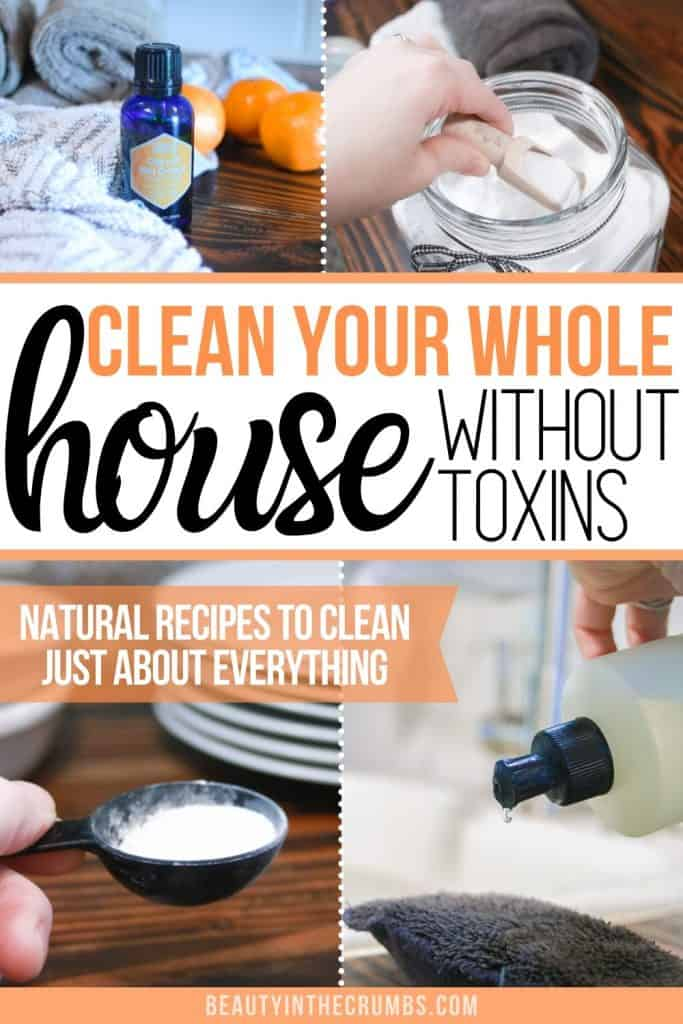 homemade household cleaning products