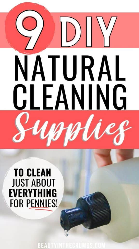 homemade household cleaning products for cheap