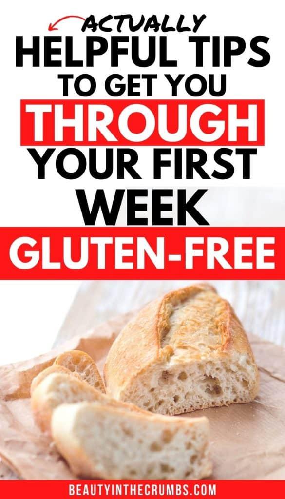 going gluten-free feeling overwhelmed