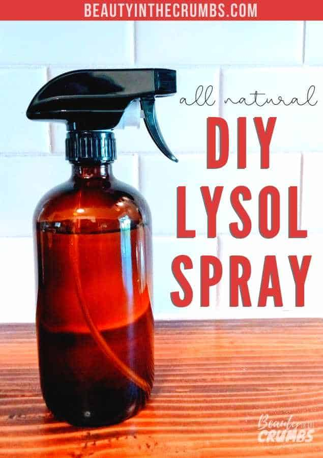 homemade disinfecting spray