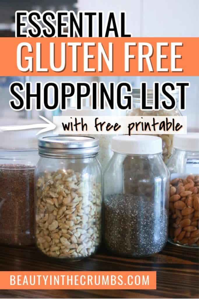 Essential gluten free foods to stock pantry