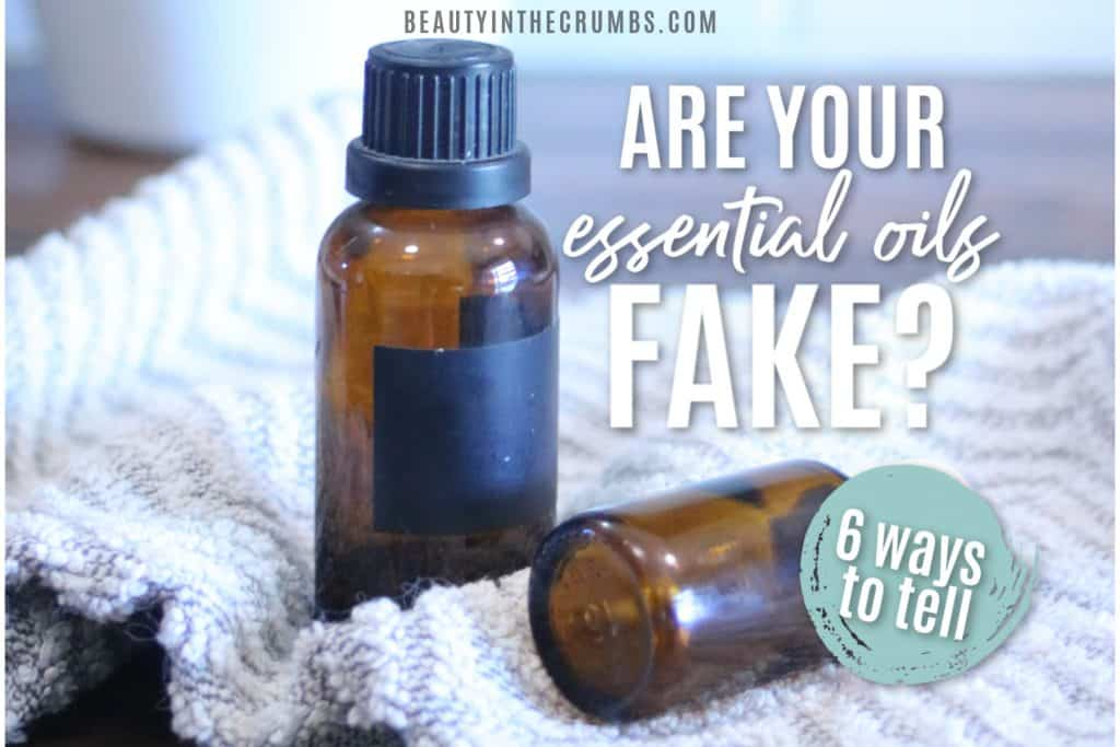 are your essential oils fake? Learn the 6 ways to tell if your essential oils are pure or not.