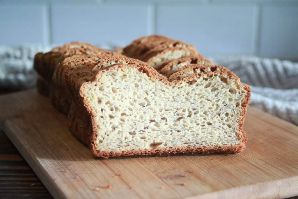 baking bread at home saves money. Best gluten free bread recipe ever!