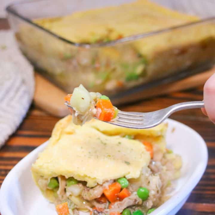 the best gluten free chicken pot pie recipe with a flaky gluten free crust