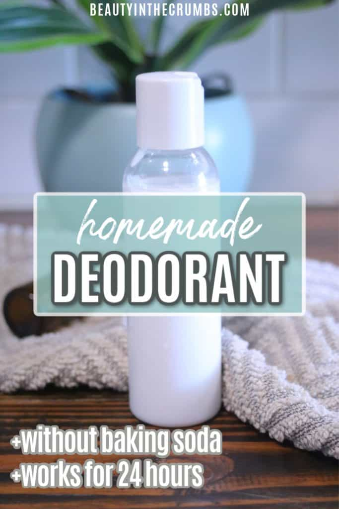 homemade deodorant without baking soda for sensitive skin