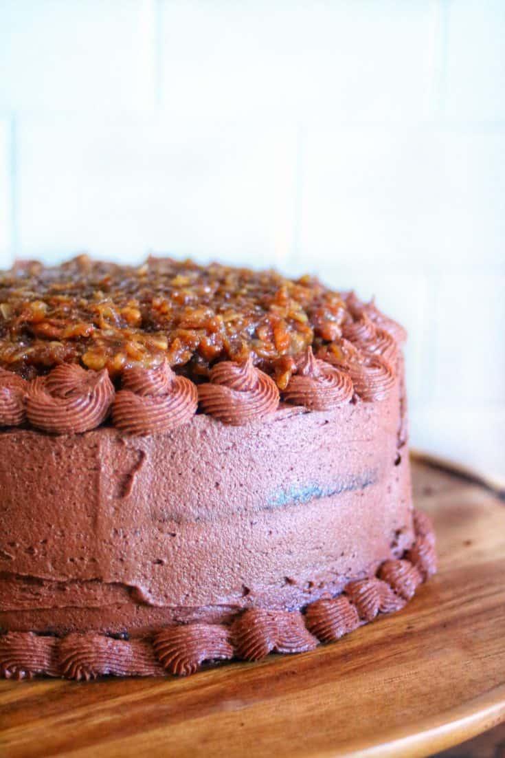 Best Ever Gluten Free German Chocolate Cake Recipe