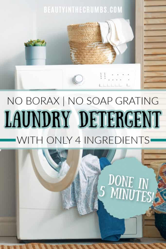 diy laundry detergent without borax