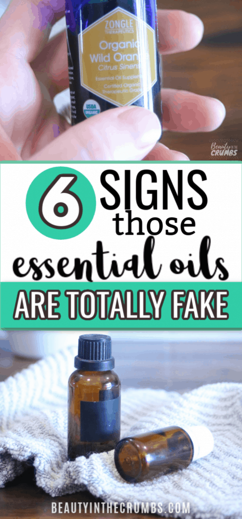 how to tell if essential oils are real or fake