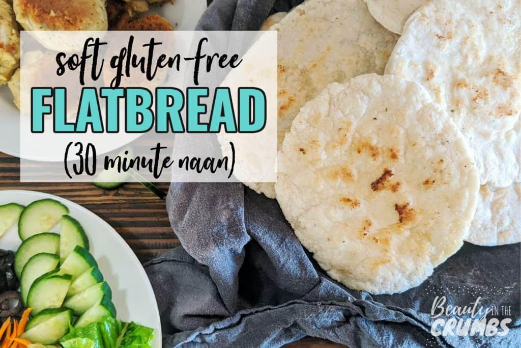 Easy gluten free flatbread recipe