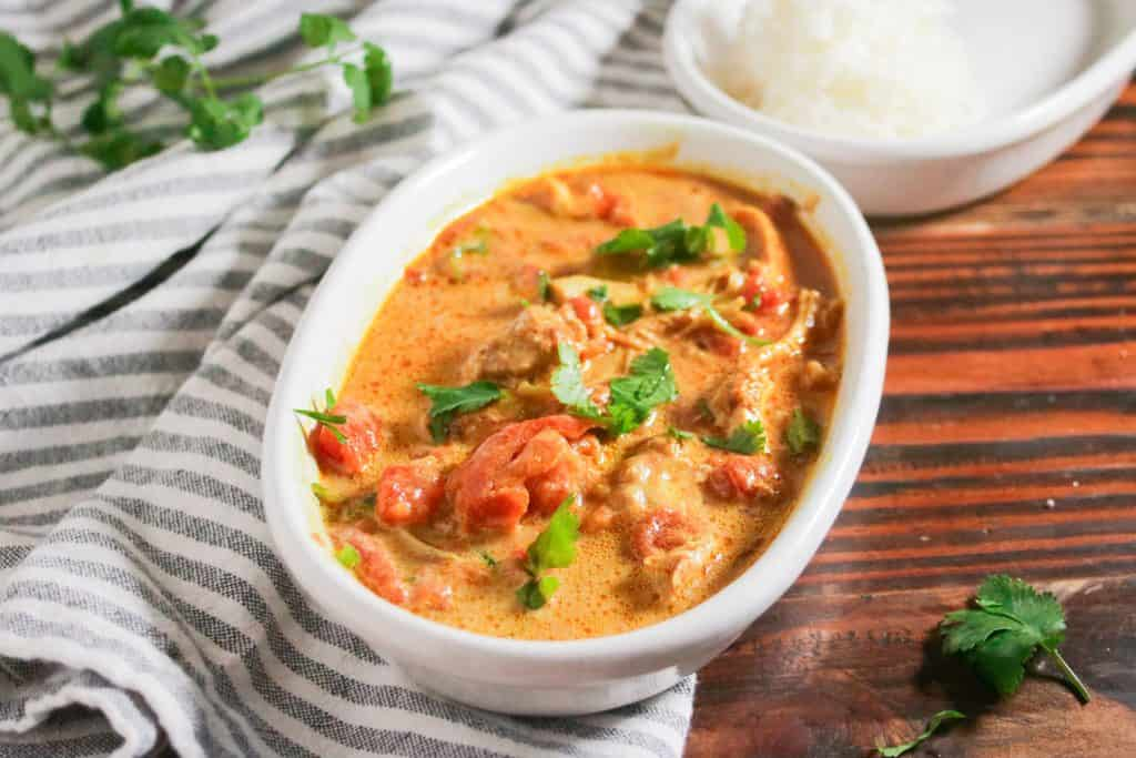 Easy chicken tikka masala recipe (dairy free and gluten free)