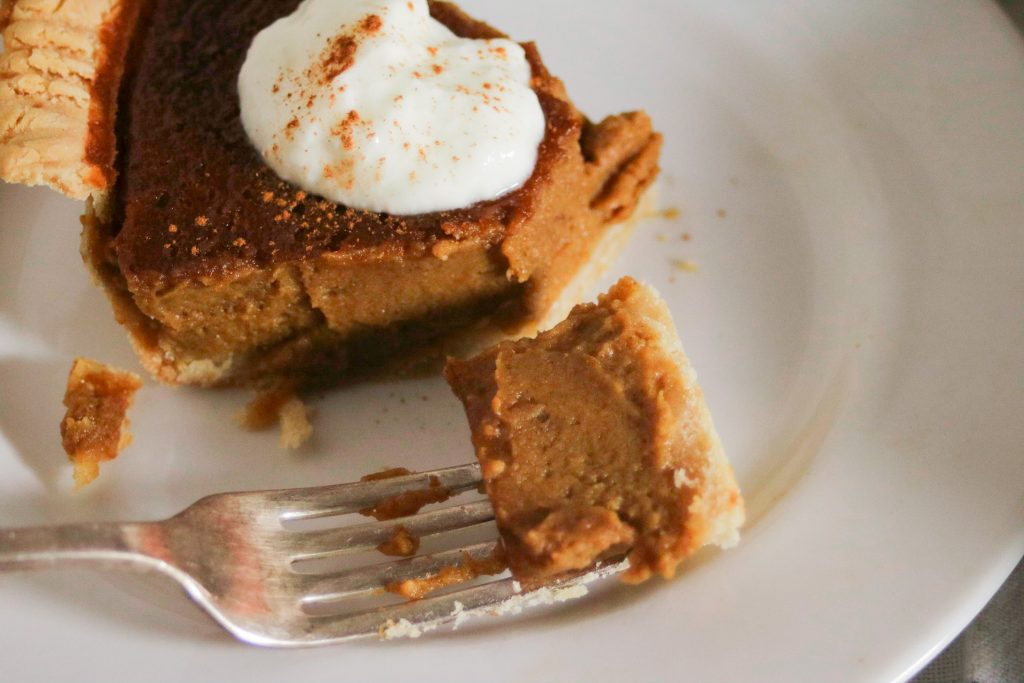 best gluten free pumpkin pie recipe (dairy free, too)