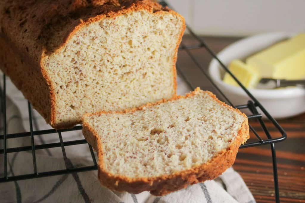Easy gluten free bread recipe dairy free vegan