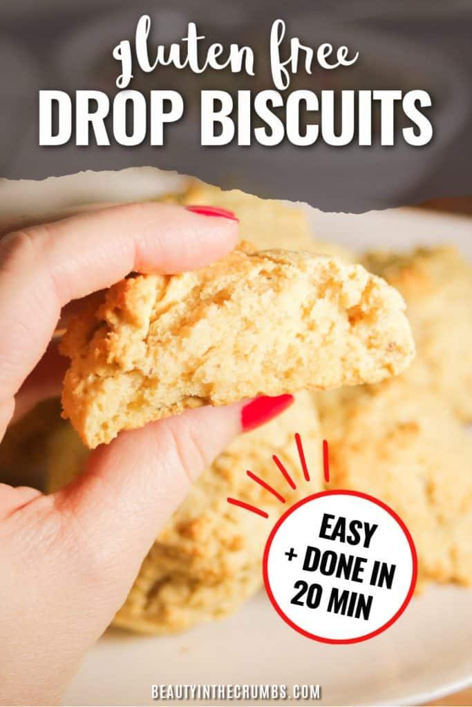 gluten free dairy free biscuits recipe