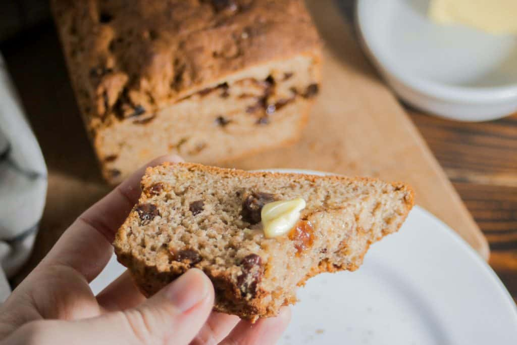Best gluten free cinnamon raisin bread recipe (dairy free and vegan option)