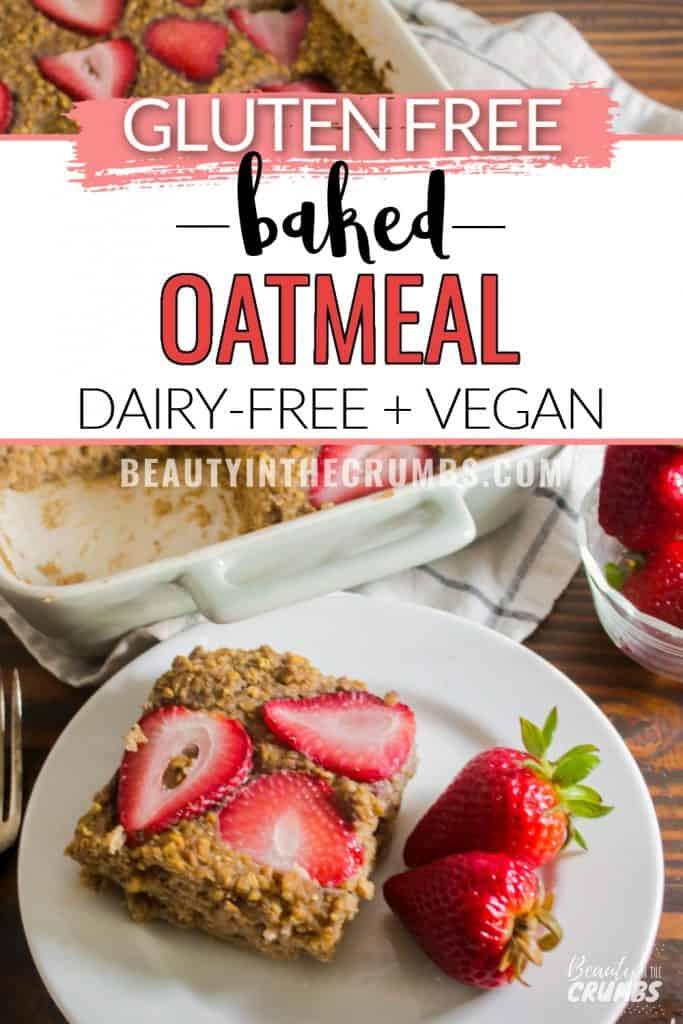 easy strawberry oatmeal bake recipe